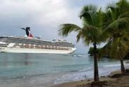 Puerto Plata recibió siete barcos cruceros con 30 mil 86 visitantes